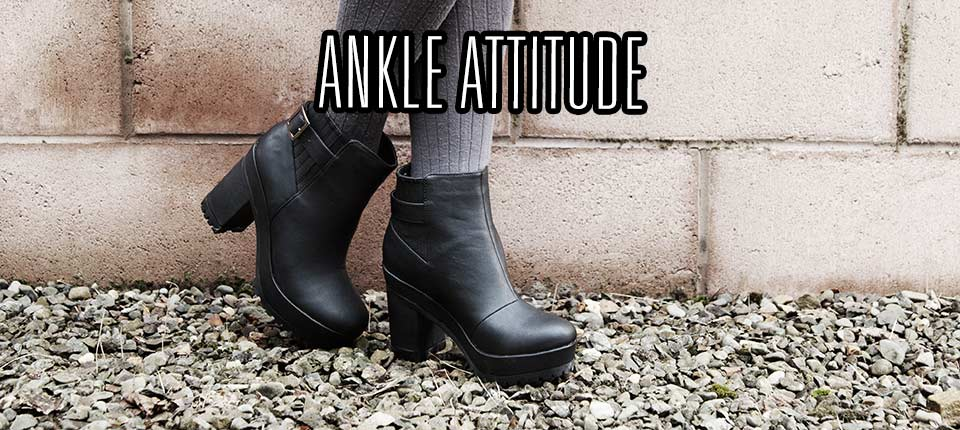shop women's ankle boots at schuh