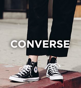 shop men's, women's and kids converse trainers at schuh