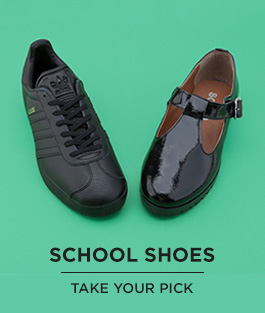 shop our range of kids' school shoes from adidas, schuh and more at schuh