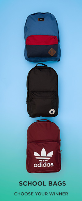 shop our range of kids school bags from adidas, converse, vans and more at schuh