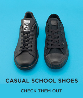 shop our full range of casual school shoes for kids from adidas, converse and more at schuh