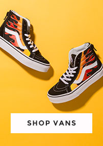 shop our full range of kids vans including the sk8 hi zip flame at schuh