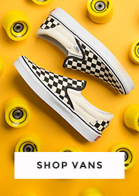 shop our full range of vans for men, women and kids including the checkerboard classic slip-on at schuh