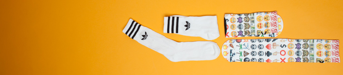 shop socks including Happy Socks and adidas socks at schuh