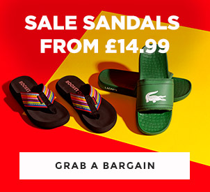 shop mens and womens sale sandals with discount at schuh