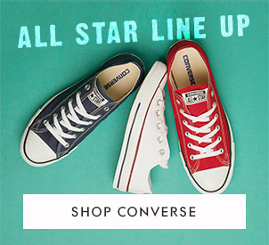 shop womens and mens All Star Converse at schuh in white navy and red