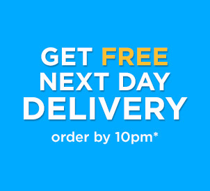 get free next day delivery - order by 10pm