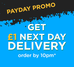 £1 Next Day delivery - order by 10pm!