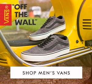 mens Vans Old Skool in grey suede at schuh