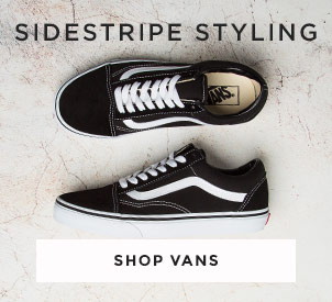 shop mens, womens and kids vans trainers including the vans old skool at schuh