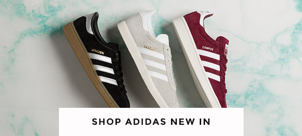 shop our full range of adidas new in for men, women and kids including the gazelle, campus and more at schuh