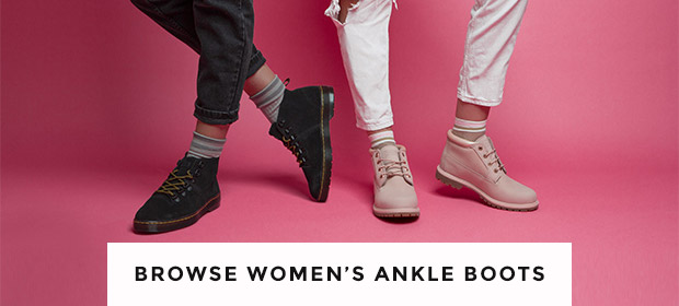 shop our full range of women's ankle boots from timberland, dr martens and more at schuh
