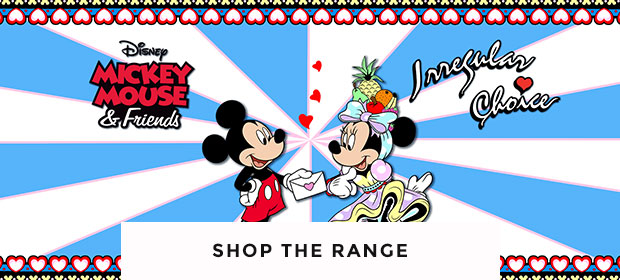 shop our range of irregular choice shoes including the Mickey Mouse and Friends collection at schuh