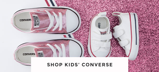 shop our range of kids' converse trainer including the all star ox glitter and the all star 2v at schuh