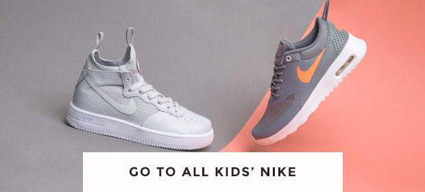 shop all kids Nike trainers at schuh and choose from the Air Force 1 Mid & more