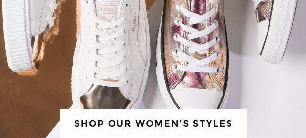 shop our full range of women's metallic shoes from converse, puma and more at schuh