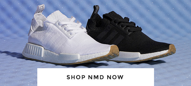 shop the latest adidas NMD, including the nmd_r1 Primeknit in black and white at schuh