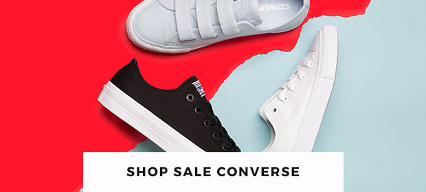 grab yourself a pair of sale converse - get them quick!