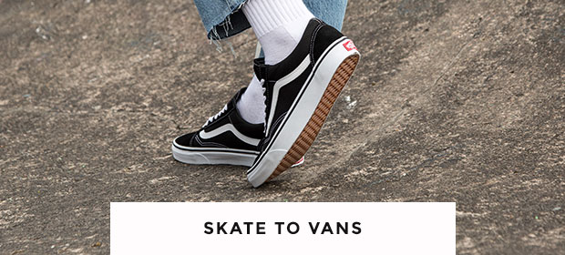 shop vans trainers including the old skool at schuh