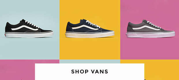 shop mens, womens & kids vans trainers including the vans old skool at schuh