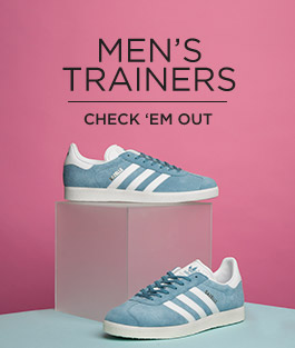 check out our holiday shop at schuh and shop our range of men's trainers