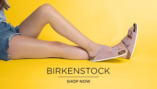 check out our holiday shop at schuh and treat yourself to a pair of birkenstock sandals.