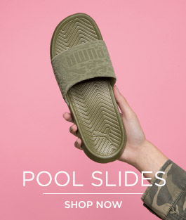 shop our range of men's, womens' and kids pool slides at schuh