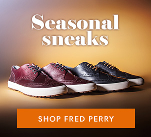 shop mens Fred Perry at schuh