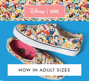 shop vans disney princesses at schuh