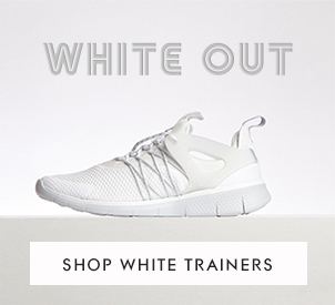 shop triple white all white trainers at schuh