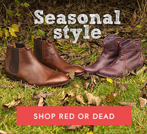 shop red or dead at schuh