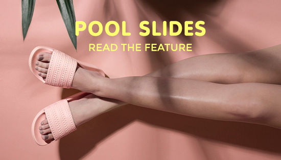 check out how to style pool slides at the schuh blog