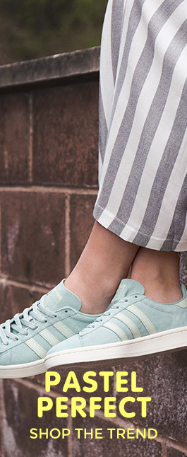 shop our range of women's pastel trainers and shoes at schuh