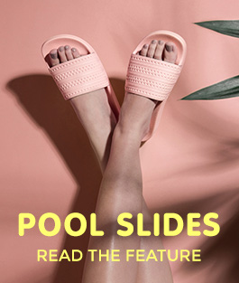 take a look at the ss17 pool slide style update at the schuh blog