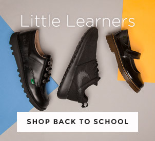 shop kids back to school at schuh and choose from Kickers, Nike & more