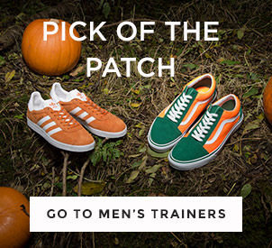 shop all mens trainers and choose from adidas, Vans & more