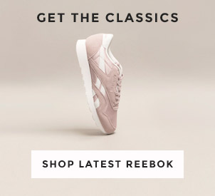 shop our full range of reebok for men, women and kids including the classic suede & nylon at schuh