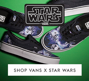 shop all vans star wars styles at schuh