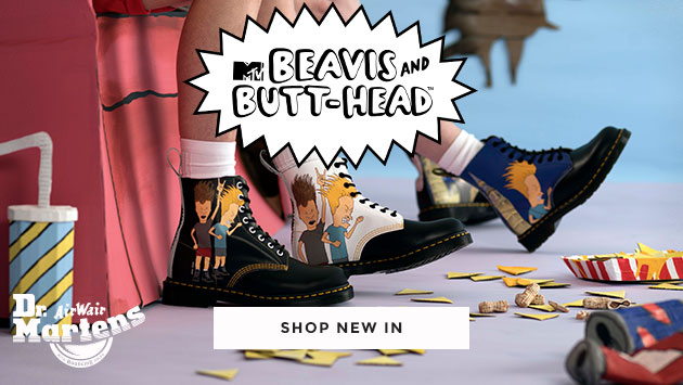 shop mens & womens dr martens including the beavis & butt-head collaboration at schuh