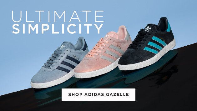 shop mens, womens and kids adidas gazelle trainers at schuh