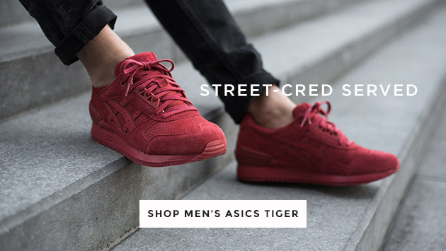 shop mens asics tiger trainers at schuh
