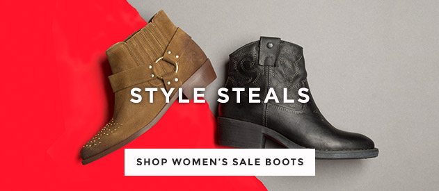 shop all womens sale boots at schuh and grab a bargain from Red or Dead & more