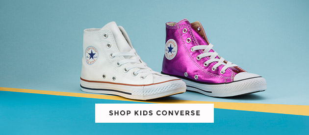 shop our range of kids converse trainers including hi-top styles and more at schuh