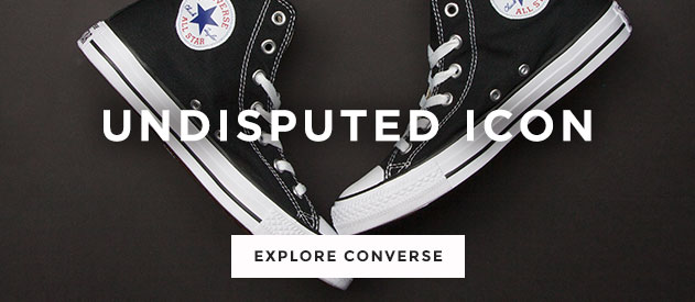 shop men's, women's and kids converse trainers, including the all star hi in black at schuh