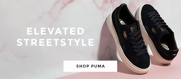 shop our range of womens puma trainers, including the puma suede platform satin at schuh