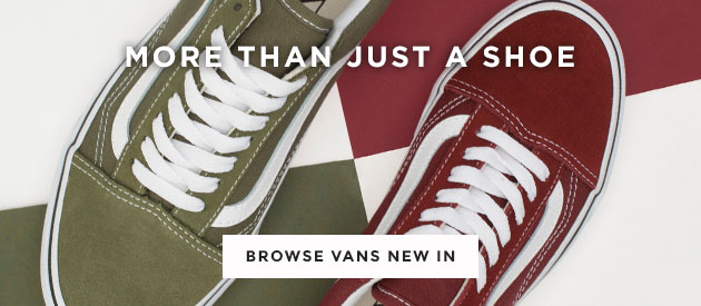 shop our range of vans new in for men, women and kids at schuh