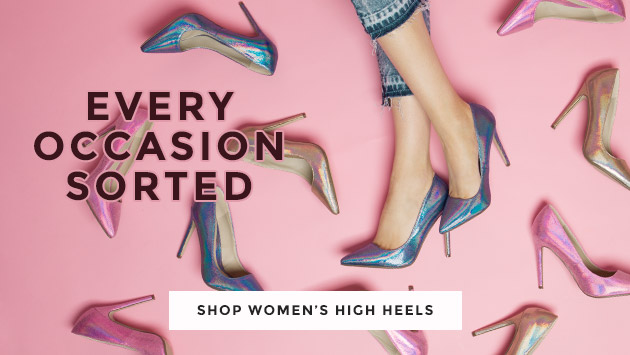 shop our range of women's high heels, from brands like missguided and more at schuh