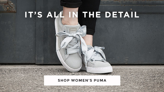 shop our range of women's puma trainers, pool slides and more at schuh