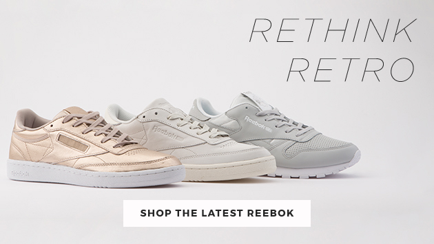 shop our full range of reebok trainers including the classic leather and club c at schuh