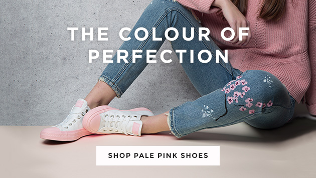 shop our range of pale pink shoes and trainers from big brands like converse and more at schuh
